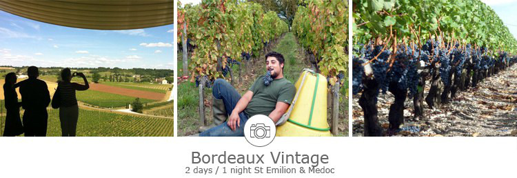 2 days private visits of vineyards in Bordeaux