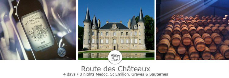 Bordeaux 4 days winery tour
