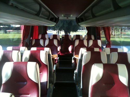 Bus rental in Bordeaux
