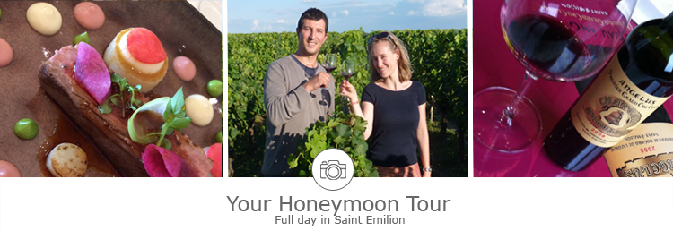 honeymoon day tour in Bordeaux