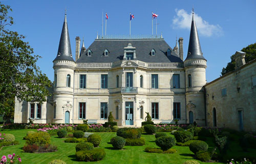 visit at Chateau Palmer (Margaux)