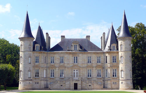 Chateau Pichon Baron Classified Growth in 1855