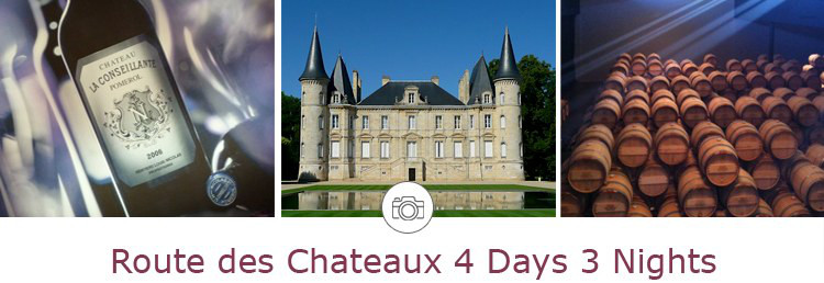 4 days winery tours in Bordeaux