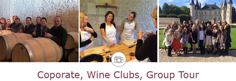 tours for group, wine club, seminary