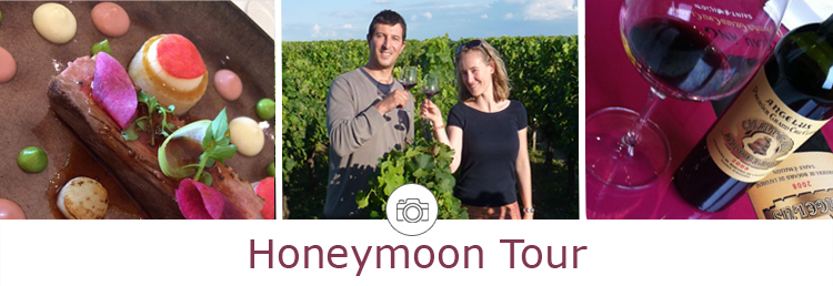 Honeymoon wine tour in Bordeaux
