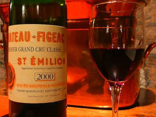Wine tasting at Chateau Figeac
