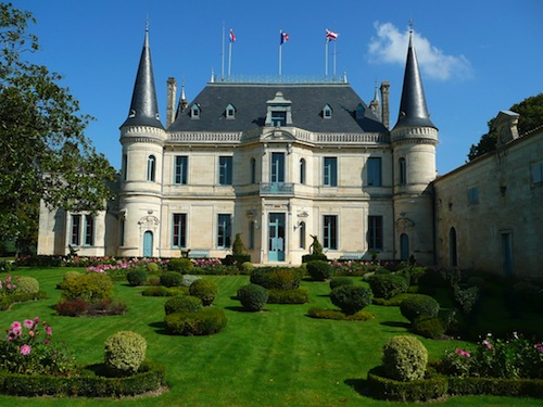 Visit at Chateau Palmer in Margaux