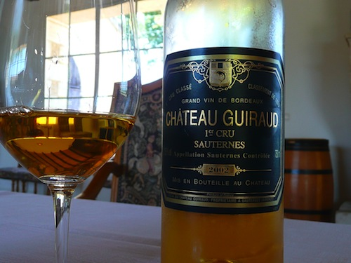 Chateau guiraud, First Growth in Sauternes