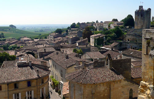 Sightseeing in Saint Emilion